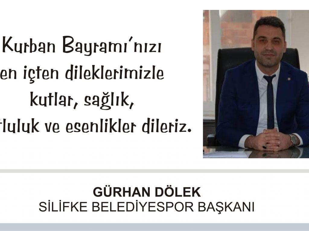 Gürhan Dölek, Kurban Bayramı Mesajı Yayınladı